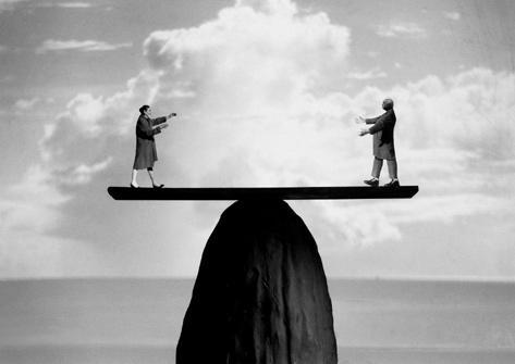homme équilibre