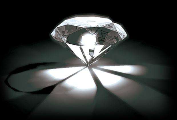 lumière éclat diamant