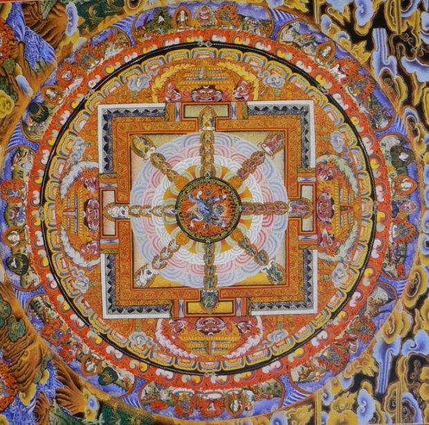 roue dharma félicité